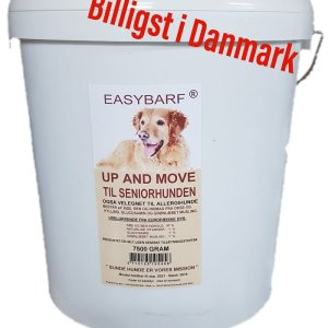 Easybarf - Up and Move 7,5 kg i spand