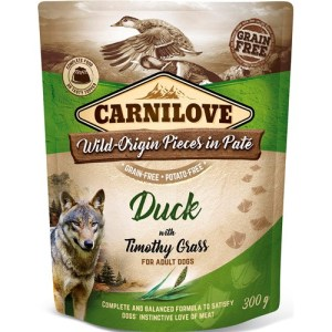 Carnilove Pouch Pate med And, 300g