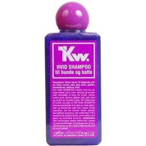 Kw Hunde og Katte Shampoo - Hvid - 200ml