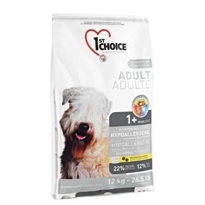 1st Choice Hyperallergi hundefoder, 12 kg.