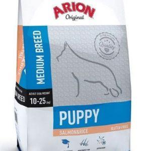 Arion Original Puppy Medium Laks og ris 3 kg