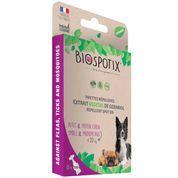 BIOSPOTIX - dog spot on - Loppemiddel til hunde under 20kg