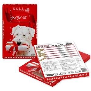 Billig Hunde Julekalender - Med Oksehud