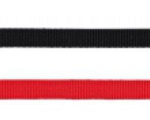 Classic hundesnor, vælg farve/størrelse Rød 2x100 cm