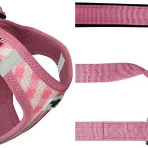 Curli Vest sele Air-Mesh & line Pink tern S