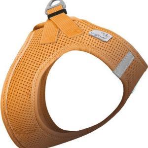 Curli Vest sele Air-mesh Orange, vælg størrelse XS Brystmål 32-36cm