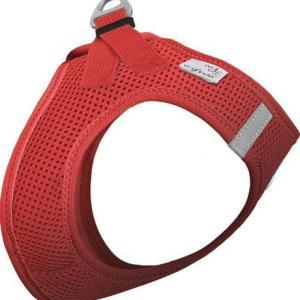 Curli Vest sele Air-mesh Rød, vælg størrelse S Brystmål 36-44cm