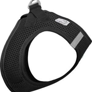 Curli Vest sele Air-mesh Sort L Brystmål 48-54cm