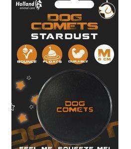 Dog Comets Stardust Multibold Ø6cm sort/orange