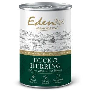 Eden Duck & Herring, Gourmet vådfoder til hunde