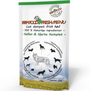 Farm Food Fresh Menu Kallun & hjerte vådfoder 125g