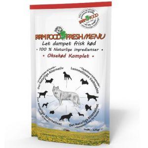Farm Food Fresh Menu Okse vådfoder 125g