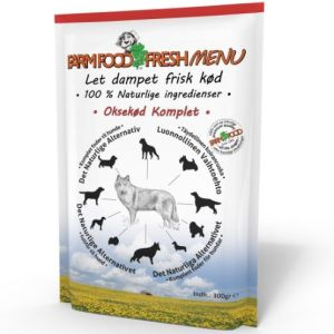 Farm Food Fresh Menu Okse vådfoder 300g