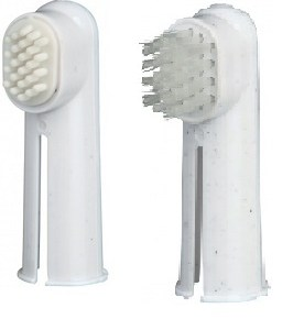 Finger tandbørster 2stk