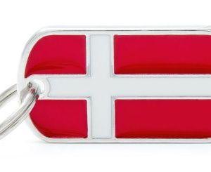 Hundetegn Flags Danmark
