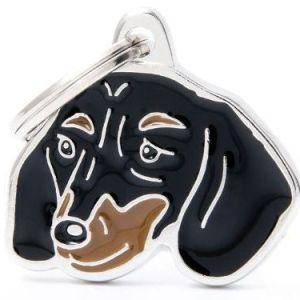 Hundetegn Friends Gravhund Black & Tan