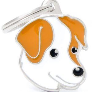 Hundetegn Friends Jack Russel brun & hvid