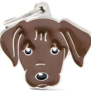 Hundetegn Friends Labrador brun