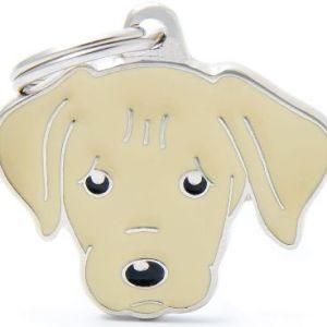 Hundetegn Friends Labrador lys