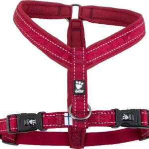 Hurtta Casual Y-sele Lingon (rød), vælg størrelse 90 cm