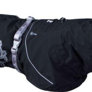 Hurtta regnjakke Drizzle Coat Raven 25cm