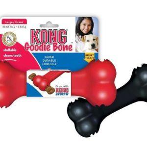 Kong Goodie bone, rød eller sort Rød