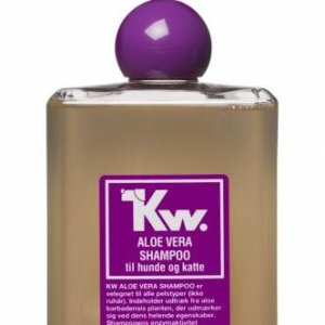 Kw Hunde og Katte Shampoo - Aloe Vera - 500ml - - - -