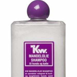 Kw Hunde og Katte Shampoo - Mandelolie - 500ml - - - -