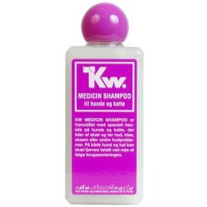Kw Medicin Hunde og Katte Shampoo - Perfumefri - Mod Skæl, Tør Hud og Kløe - 200ml