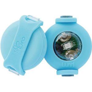 LED lygte til Curli sele blå 2stk