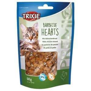 Premio katte snack Barbecue Hearts