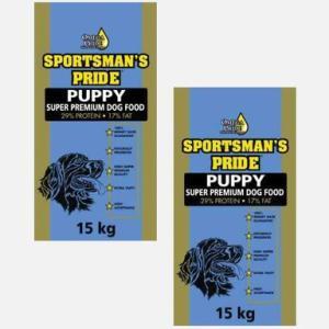 2x15 kg PUPPY (Blå) - til hvalpe