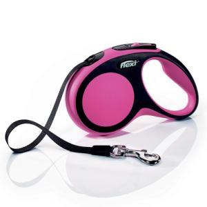 Flexi hundesnor - New comfort - Small - Sort/pink