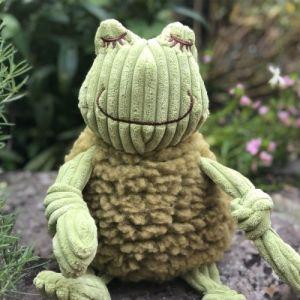 Huggle Hounds Flufferknotties Fiona The Frog Large