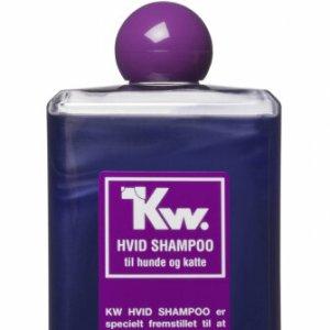 Kw Hunde og Katte Shampoo - Hvid - 500ml - - - -