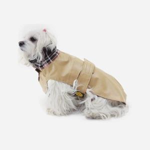 Beige vandafvisende voks jakke fra Fashion Dog (art.112)