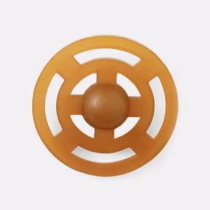 Tygge/kaste legetøj af naturgummi - Galaxy frisbee - Hevea