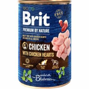 Brit Premium by Nature Chicken with Hearts, 400 g