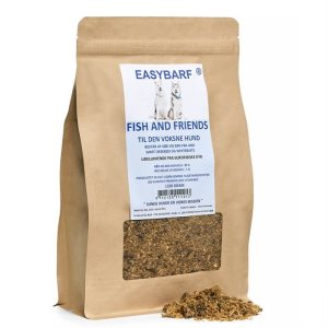 EasyBarf Fish And Friends - Hundefoder -1100g