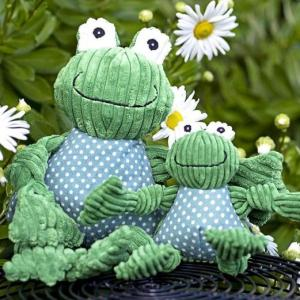 Huggle Hounds Knotties Frog large