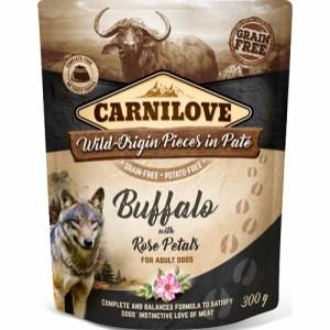 Carnilove Pate Buffalo & Rose Petals 300g