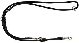 KW Walker Læder Dressurline Sort sort 0,6x220 cm