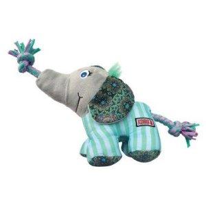 Kong Carnival Elefant - SM - Med Reb og Pivelyd