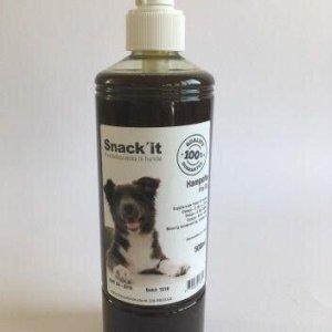 Snack'it Hunde Hampolie - Med Omega 3, 6 og 9 - 500ml - 100% Naturlig