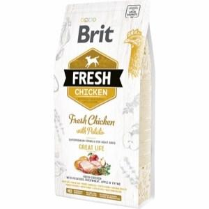 Brit Fresh Chicken Adult, 12 kg
