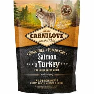 Carnilove Adult LB Salmon & Turkey, 1.5 kg