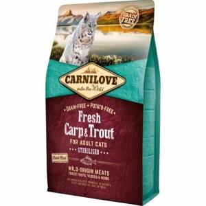 Carnilove Cat Adult Carp & Trout, 2 kg