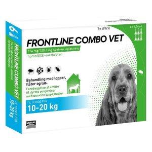 Frontline Combo - Hund 10-20 kg - 6 Pipetter