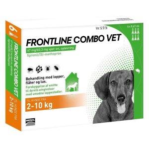 Frontline Combo - Hund 2-10 kg - 6 Pipetter