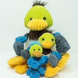 Huggle Hounds Knotties Duck Small